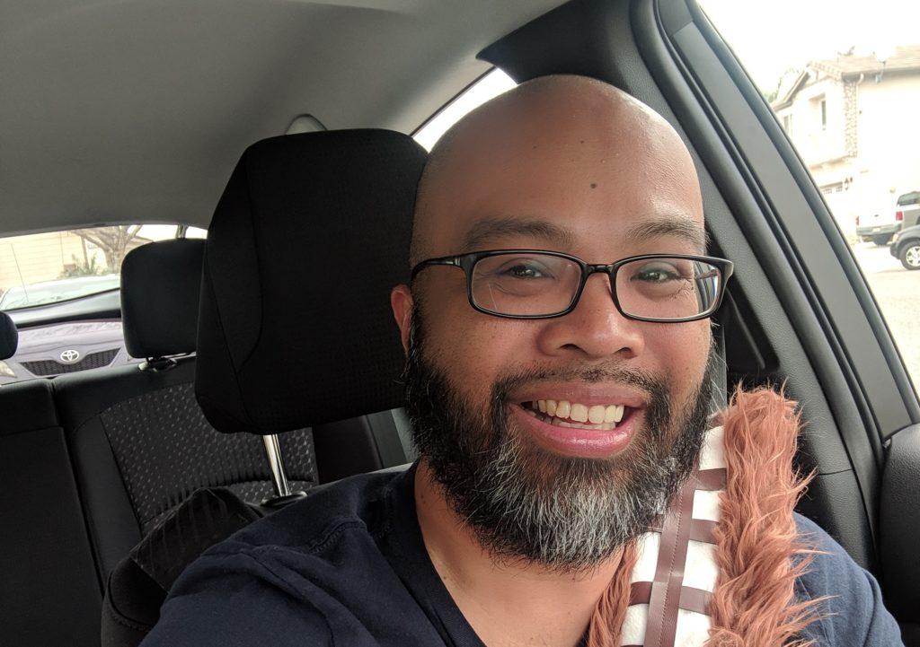 Ruel Chewie seatbelt