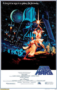 Original Theatrical Star Wars Poster