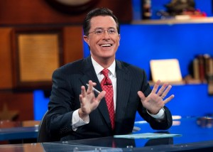 Stephen Colbert, courtesy of slate.com