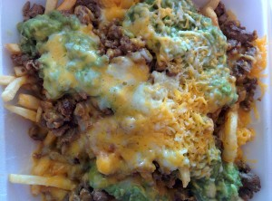 Carne asada fries.