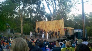 Macbeth in the Park.