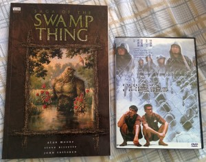 Used graphic novel and DVD