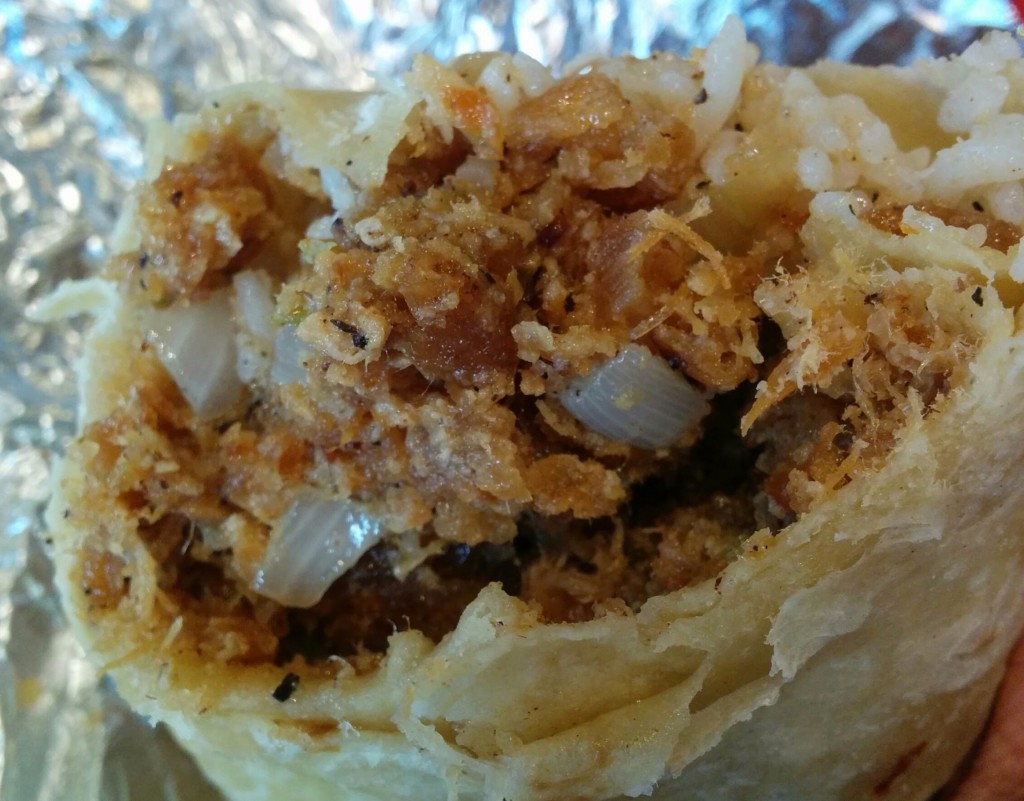 White Rabbit's sisig burrito