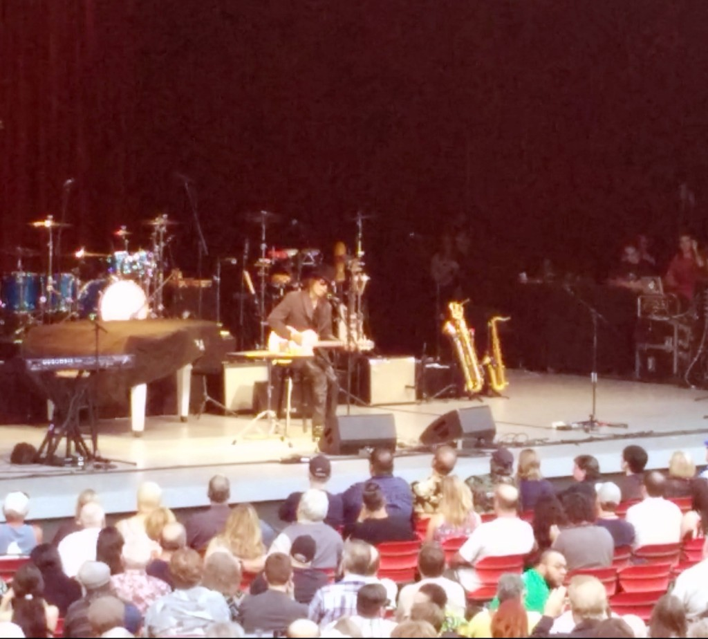 Rodriguez at the Greek Theatre