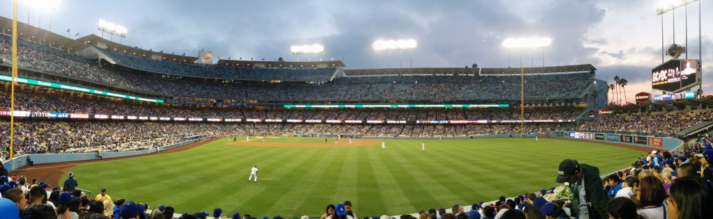 Dodger Stadium, aka Heaven.