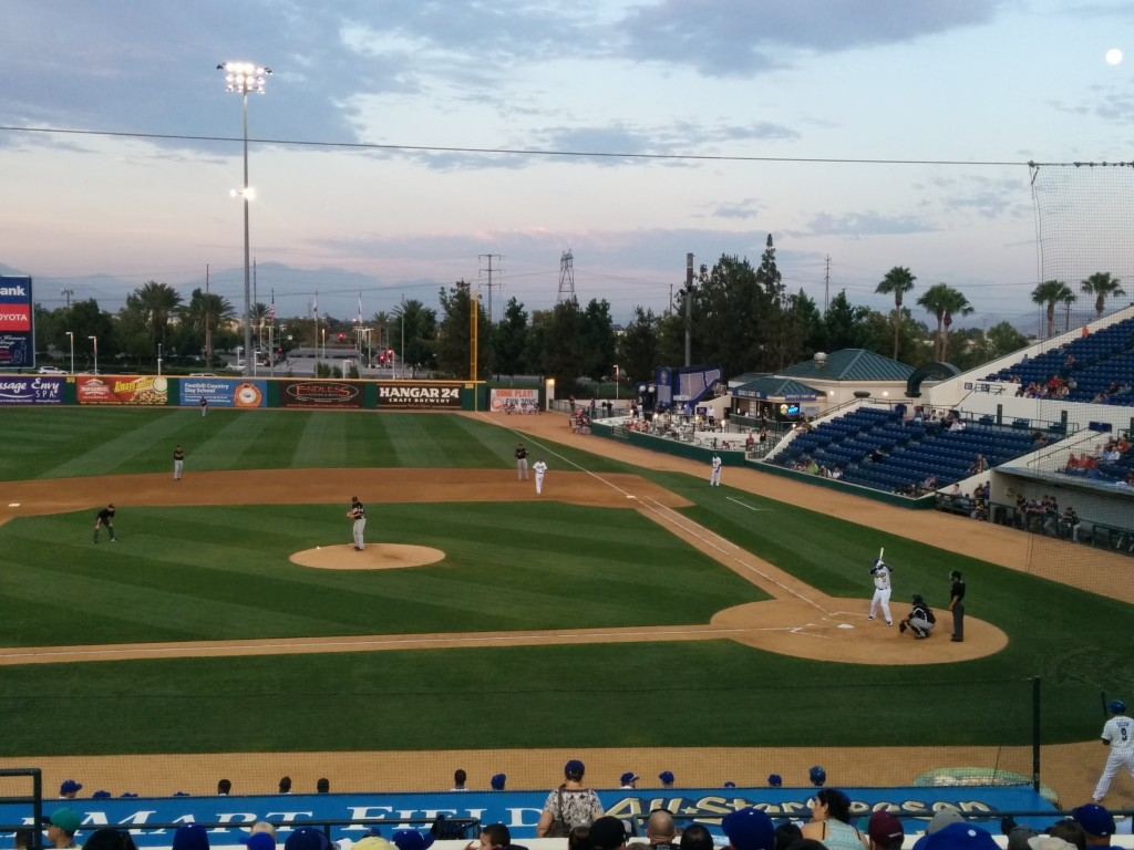 Dodgers' Carl Crawford DH for the Quakes