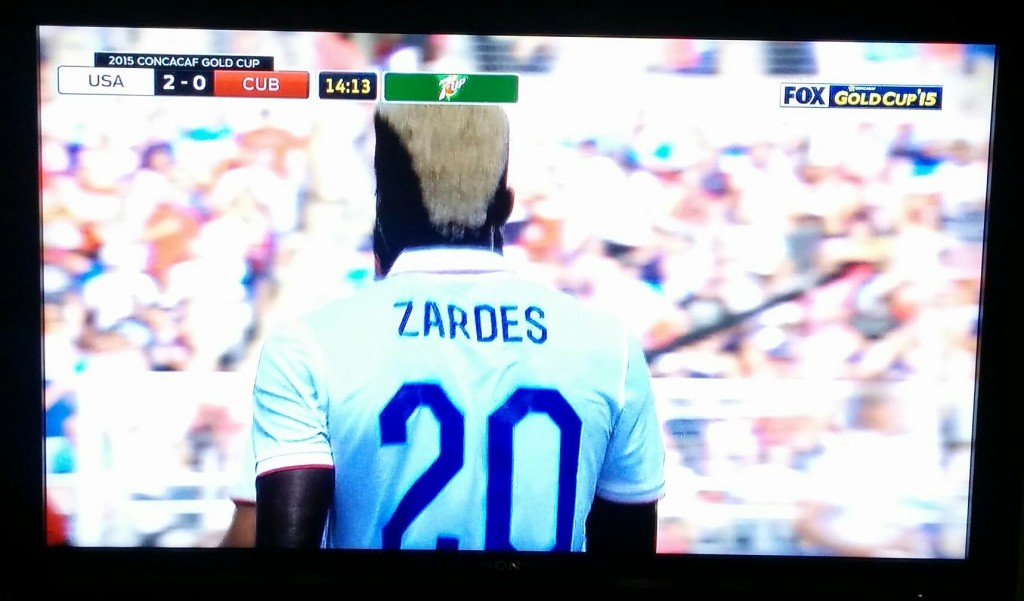 Team USA's Gyasi Zardes