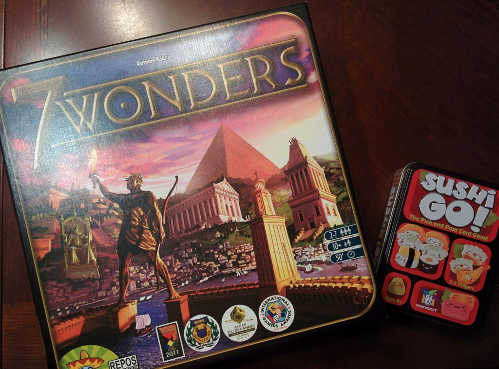 7 Wonders and Sushi Go