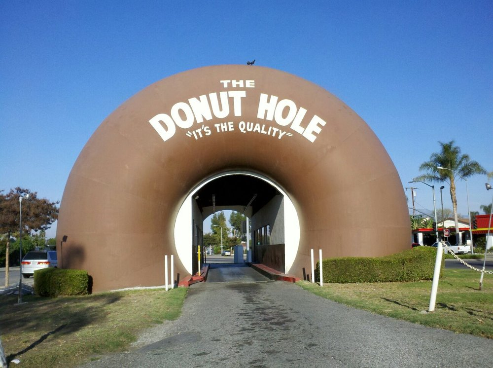 The Donut Hole. La Puente, California.