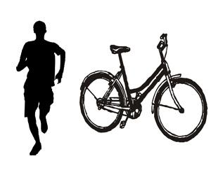 Running and Biking