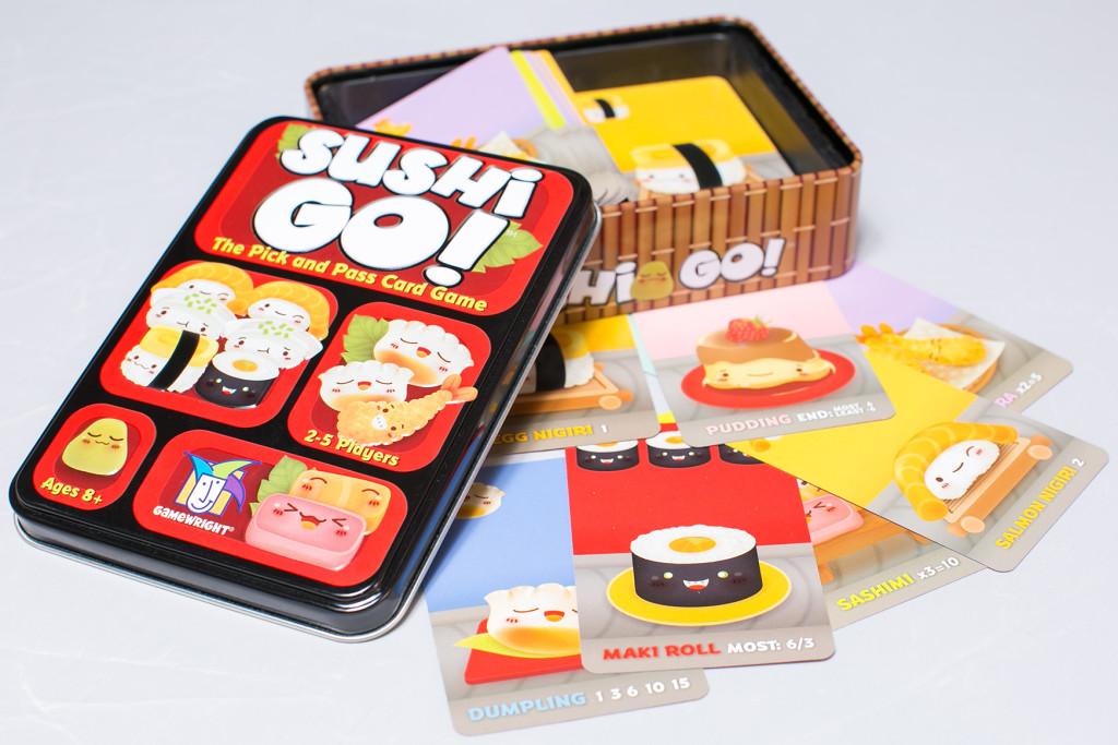 Sushi Go (image from thegameaisle.com)