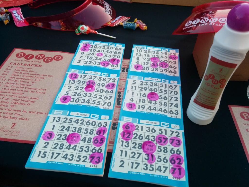 Bingo Under the Stars