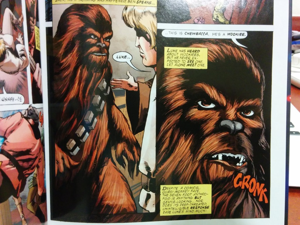 Bigfoot, er, Chewbacca.