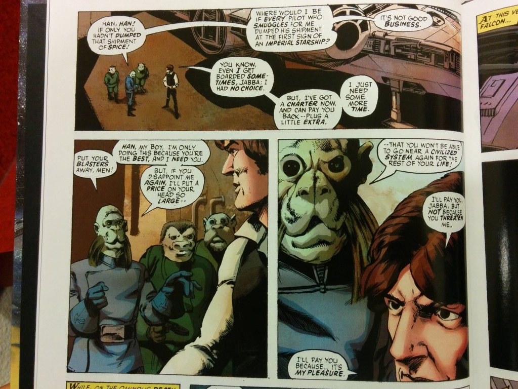 Jabba the Hutt, the 1977 comic book version.