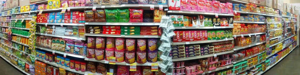 Seafood City Snack Aisle