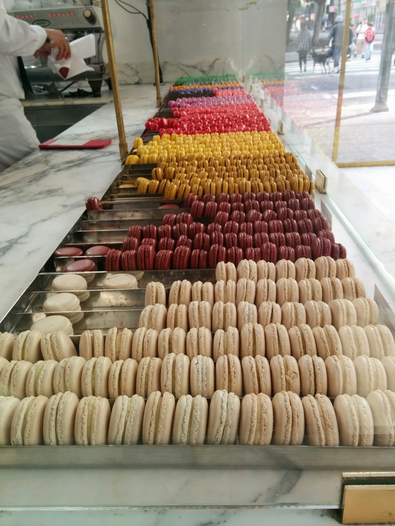 Macarons at Bottega Louie