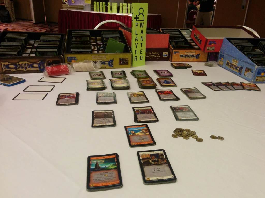 Open Gaming at Orccon 2016.