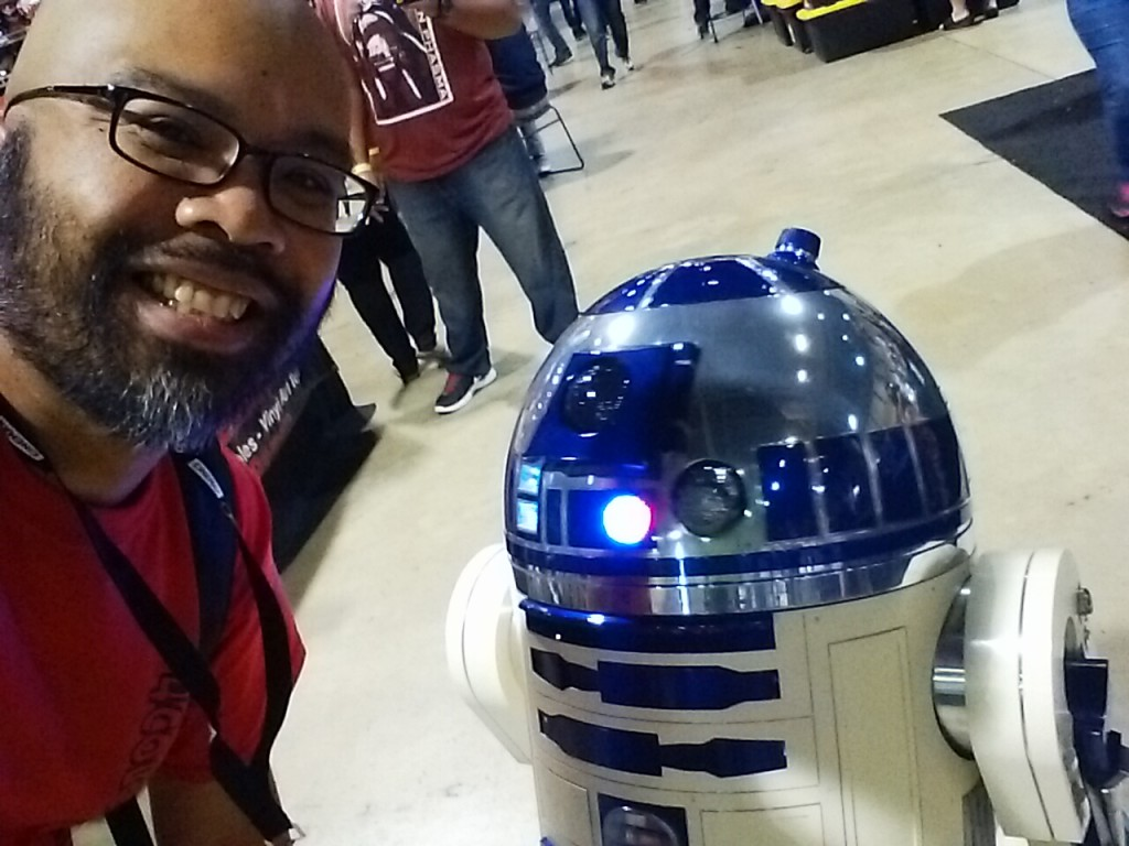 Thanks for the selfie, Artoo!