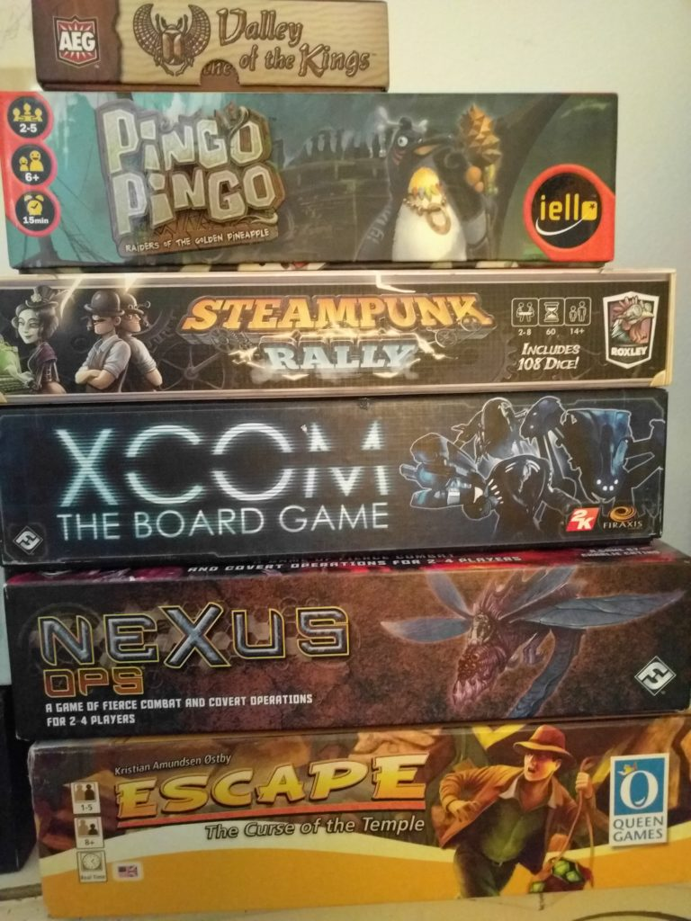 Used Board Games