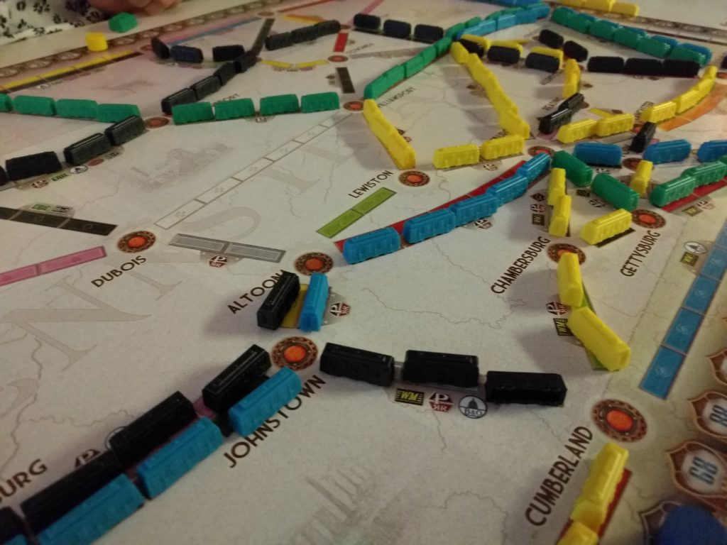 Ticket to Ride: Pennsylvania