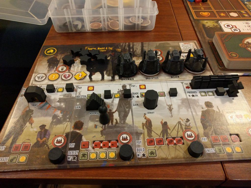 Scythe Player Board